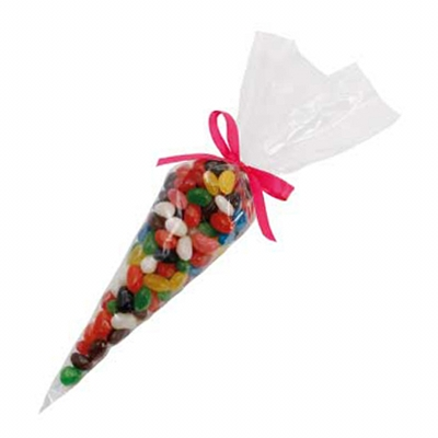 Picture of Confectionery Cones with Mixed Jelly Bea