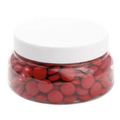 Picture of Large Plastic Jar with Chocolate Gems (C