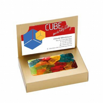 Picture of Business Card Box with Gummy Bears