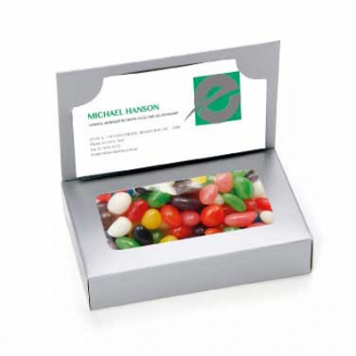 Picture of Business Card Box with Mixed Jelly Beans