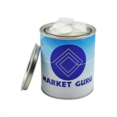 Picture of Medium Paint Tin with Flat Mints