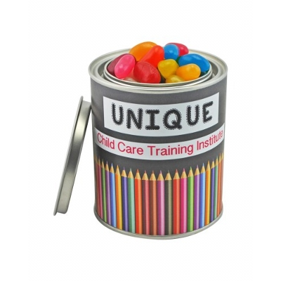Picture of Medium Paint Tin with Mixed Jelly Beans