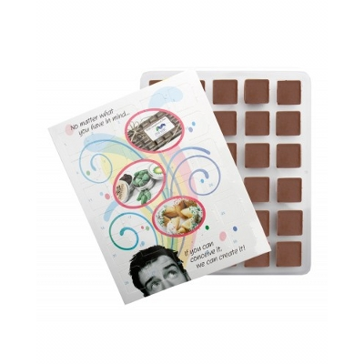 Picture of Xmas Advent Calender with Plain ChocolateConfectionery