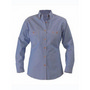 Womens Chambray Shirt  - Long Sleeve