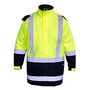 Taped Two Tone Hi Vis Rain Shell Jacket
