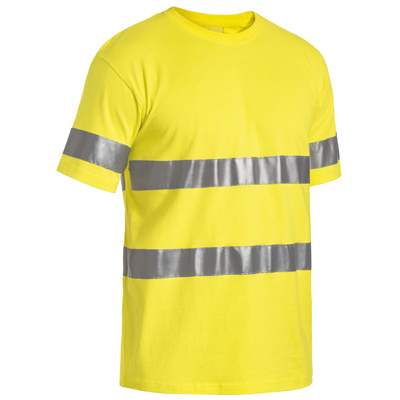 Picture of 3M Taped Hi Vis Cotton T-Shirt