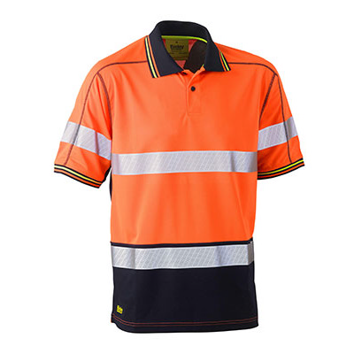 Picture of Taped Two Tone Hi Vis Polyester Mesh Sho