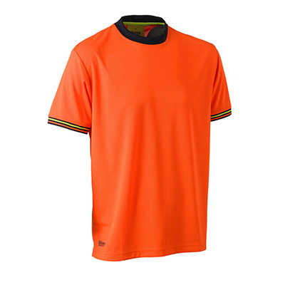 Picture of Hi Vis Polyester Mesh Short Sleeve T-Shi