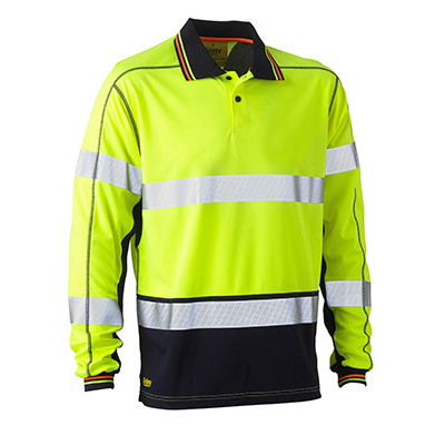 Picture of Taped Two Tone Hi Vis Polyester Mesh Long