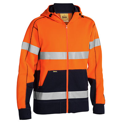 Picture of Taped Hi Vis Fleece Hoodie