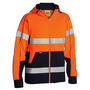 Taped Hi Vis Fleece Hoodie