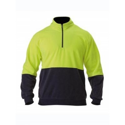 Picture of Hi Vis Polarfleece Zip Pullover