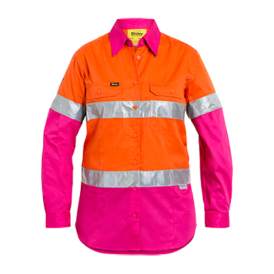 Picture of Womens 3M Taped Hi Vis Cool Lightweight