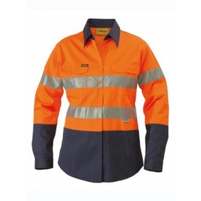 Picture of Womens 3M Taped Two Tone Hi Vis Drill Sh