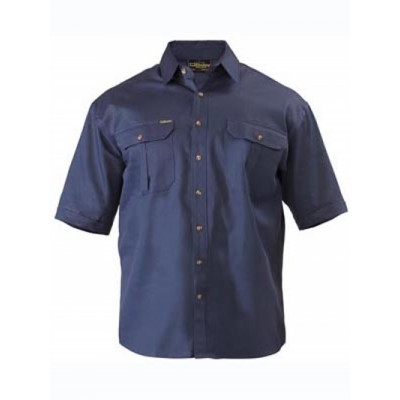 Picture of Original Cotton Drill Shirt - Short Slee
