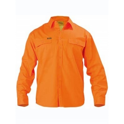 Picture of Hi Vis Drill Shirt - Long Sleeve