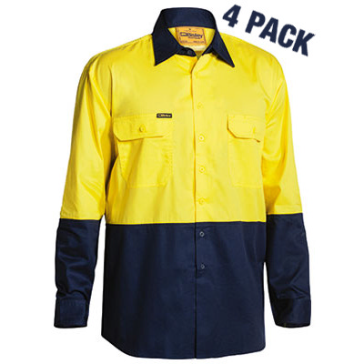 Picture of Two Tone Hi Vis Cool Lightweight Drill S