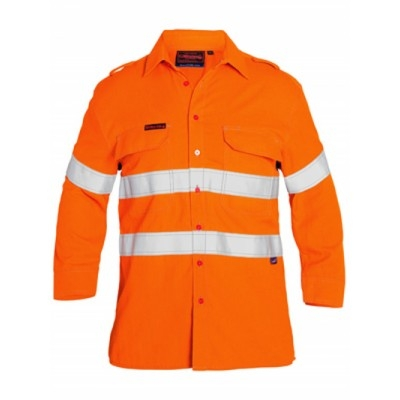 Picture of Tencate Tecasafe Plus Taped Hi Vis Fr Ve