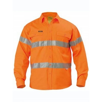 Picture of 3M Taped Hi Vis Drill Shirt - Long Sleeve
