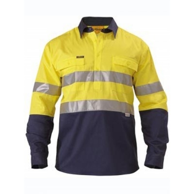 Picture of 3M Taped Two Tone Closed Front Hi Vis Dr