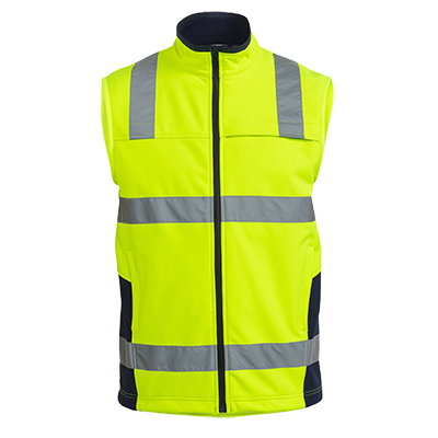 Picture of Taped Hi Vis Soft Shell Vest