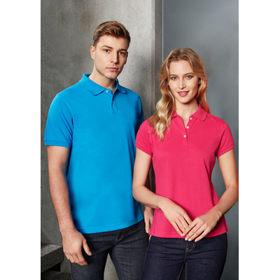 Picture of Ladies Neon Polo