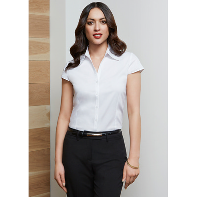 Picture of Ladies Metro Cap Sleeve Shirt