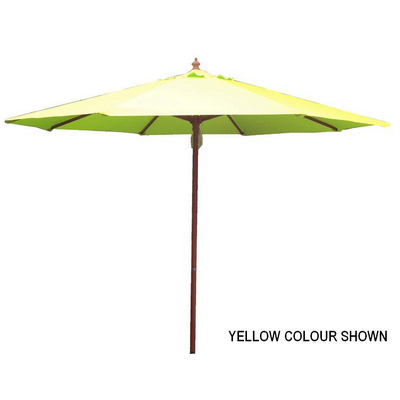 Picture of 2.7m Tuscany Wood Look Market Umbrella,