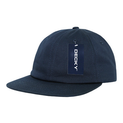 Picture of Relaxed Flat Bill Cotton Cap