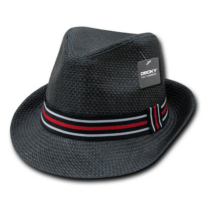 Picture of Paper Straw Fedora Hat