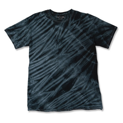 Picture of TIGER STRIPE TIE DYED T-SHIRT
