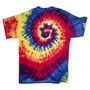 POLYESTER TIE DYED T-SHIRT