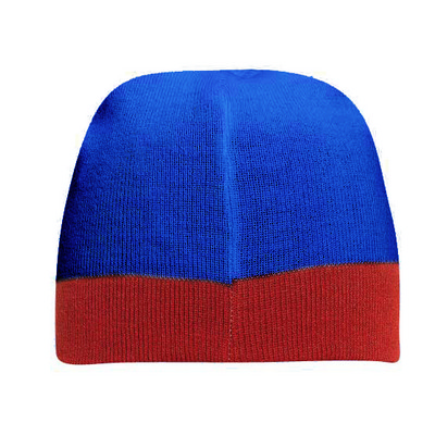 """Picture of 8"""" Reversible Beanie With 1 1/2"""" Trim"""