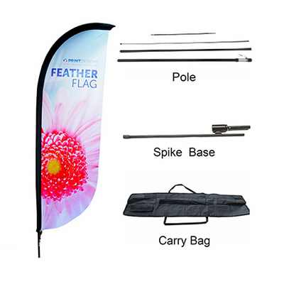 Picture of Large(80.5*400cm) Convex Feather Banners
