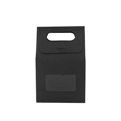 Picture of Diecut Handle Bag with Window(100x160x60