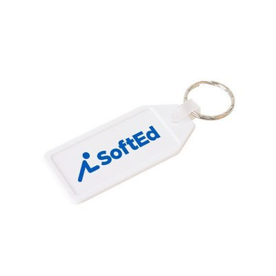 Picture of Long Hexagon Hard Plastic Keyring