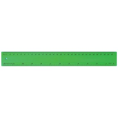 Picture of Ruler 30cm Fluro Green