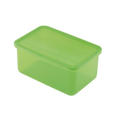 Picture of Lunch Box Base Large Translucent Green
