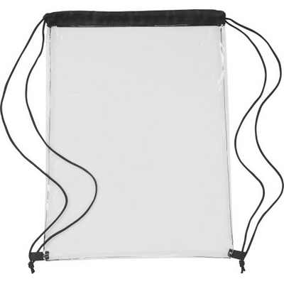 Picture of Transparent PVC drawstring backpack