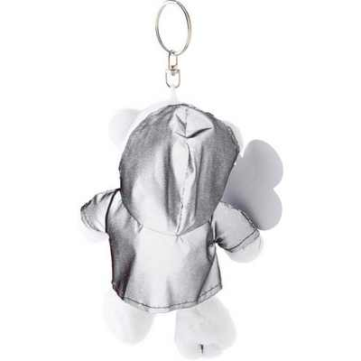 Picture of Plush bear with reflective hoodie.