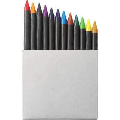 Picture of Crayon set in card box
