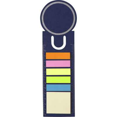 Picture of Bookmark and sticky notes.
