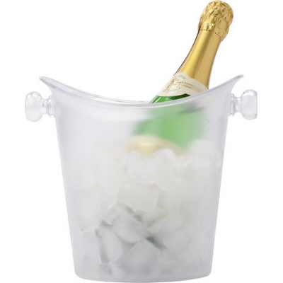 Picture of Frosted plastic cooler/ice bucket.
