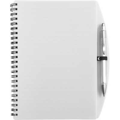 Picture of A5 Wire bound notebook and ballpen