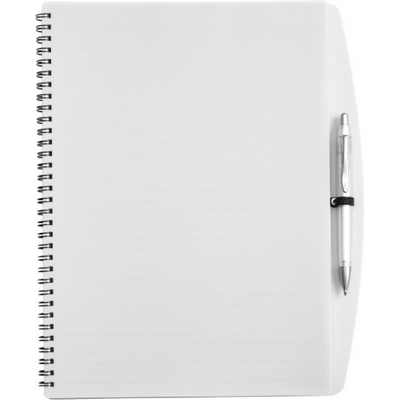 Picture of A4 Wire bound notebook and ballpen