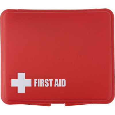 Picture of First aid kit in a plastic box, 10pc