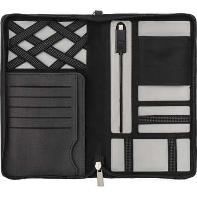 Picture of Svepa PU travel wallet with 4000mAh powe