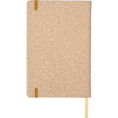 Picture of PU covered notebook with cork print (A5)