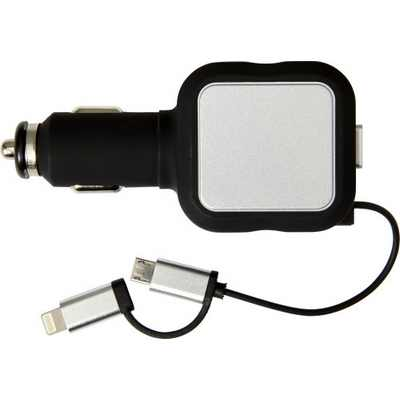 Picture of Plastic multifunctional car charger