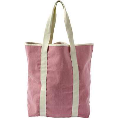 Picture of Twill cotton two-tone beach bag